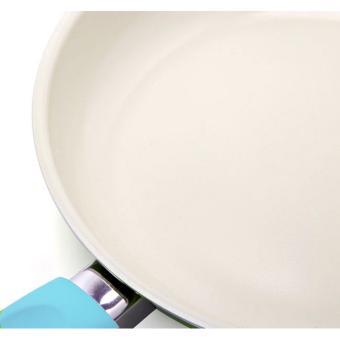 Chảo ceramic chống dính 26cm Comet CH11-26 (Xanh bạc hà)