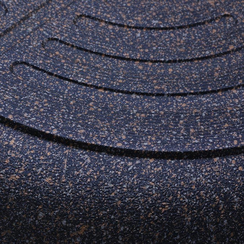 Chảo đá từ chống dính Cook Way Hàn Quốc SSIH4-30 cm (Đen)