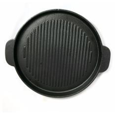 Chảo gang chuyên nướng thức ăn (đen)
