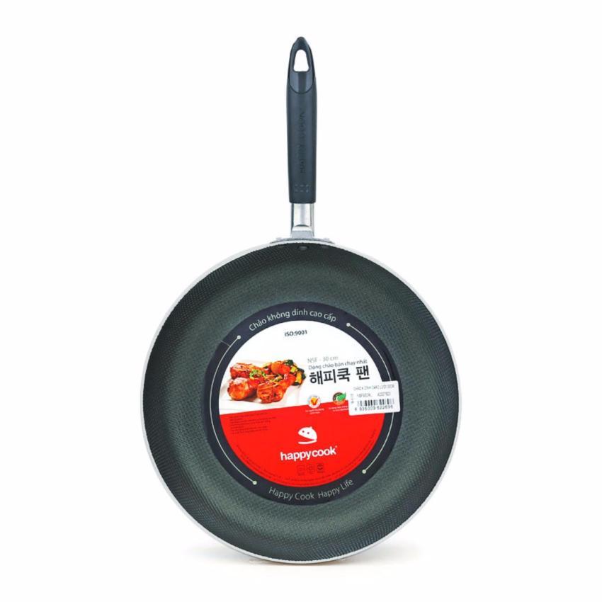 Hình ảnh Chảo nhôm chống dính caro lưới Happy Cook 22cm NSF22CRL