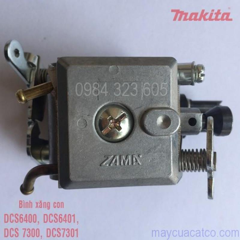Chế hòa khí (bình xăng con) máy cưa Makita DCS6400, DCS6401, DCS7300, DCS7301