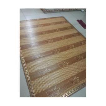 chiếu trúc vân gỗ loại cây thẳng m6 x 2m