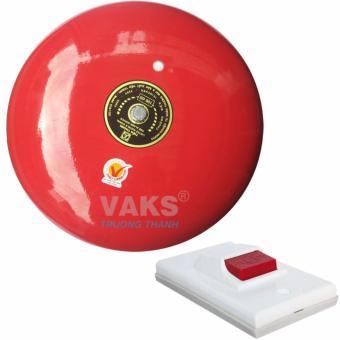 Chuông điện dạng đĩa 10 inch - 100dB + tặng kèm nút nhấn NC6-306