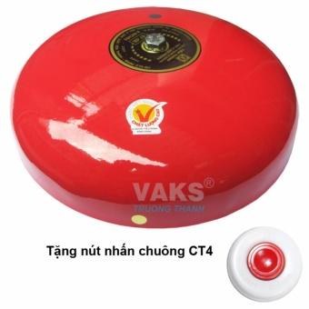 Chuông điện dạng đĩa 8 in - 97dB + tặng kèm nút nhấn CT4-1608