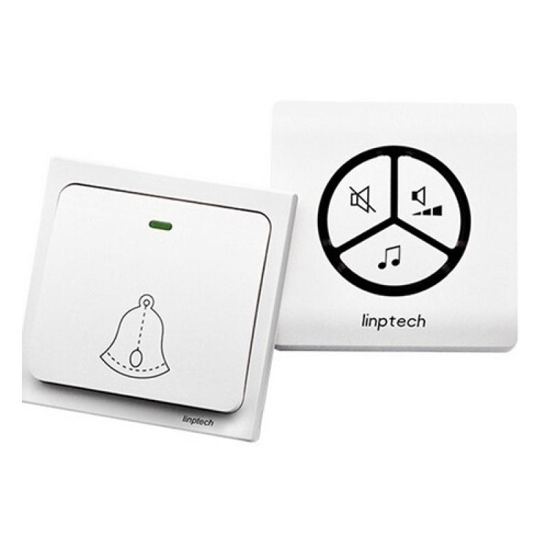 Chuông không dây không dùng pin LINPTECH LP100SW (Trắng)