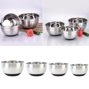 Cocotina stainless steel bowl deepening thick soup basin M - intl