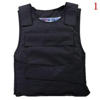 CocotinaTactical Bulletproof Vest Lightweight Vest Slim Invisible Self-defense Stab-resistant Vest - intl