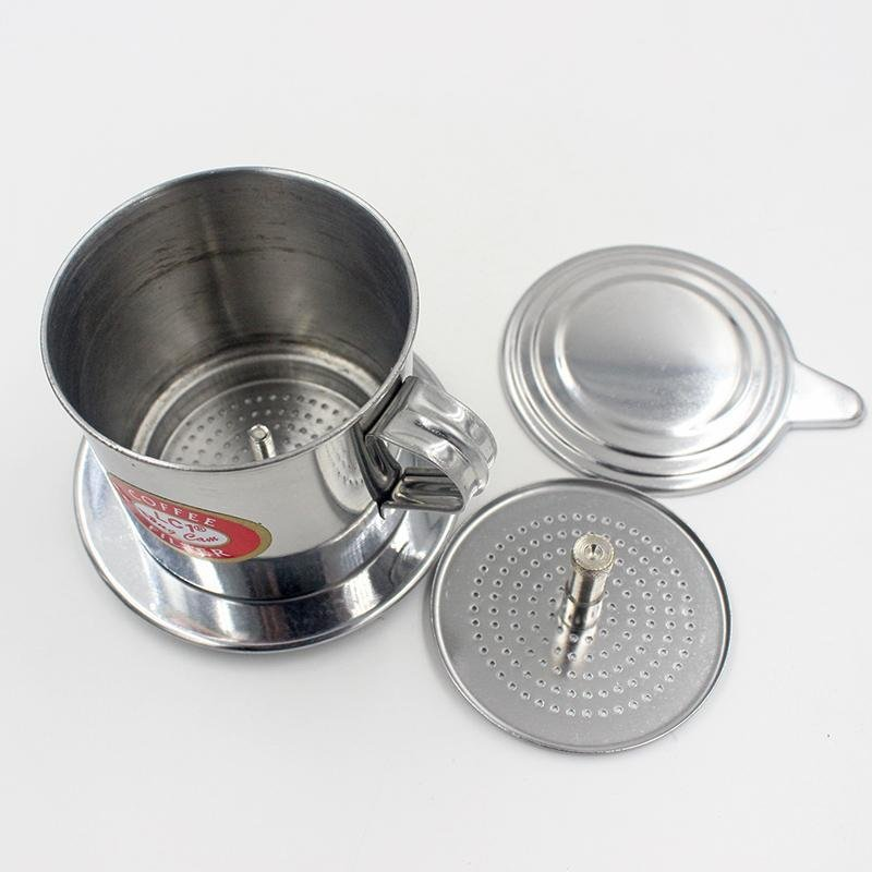 Hình ảnh Coffee Filter Set Vietnamese Traditional Coffee Phin Filter CoffeeInfuser - intl