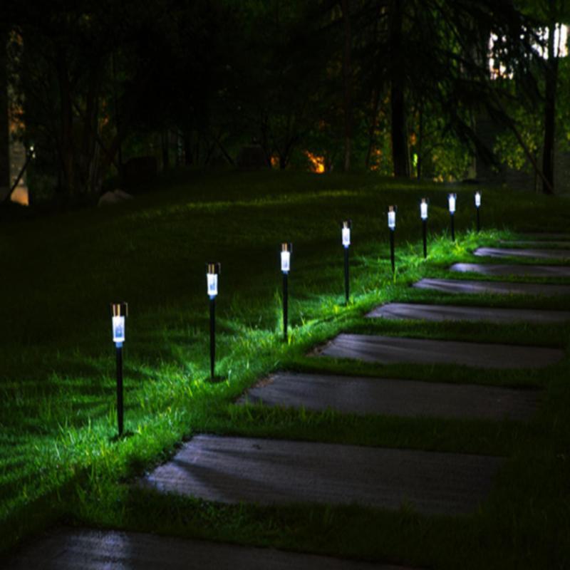 Bảng giá Combo 10 đèn led trang trí sân vườn, tiệt sinh nhật liên hoan năng lượng mặt trời - Ánh sáng trắng