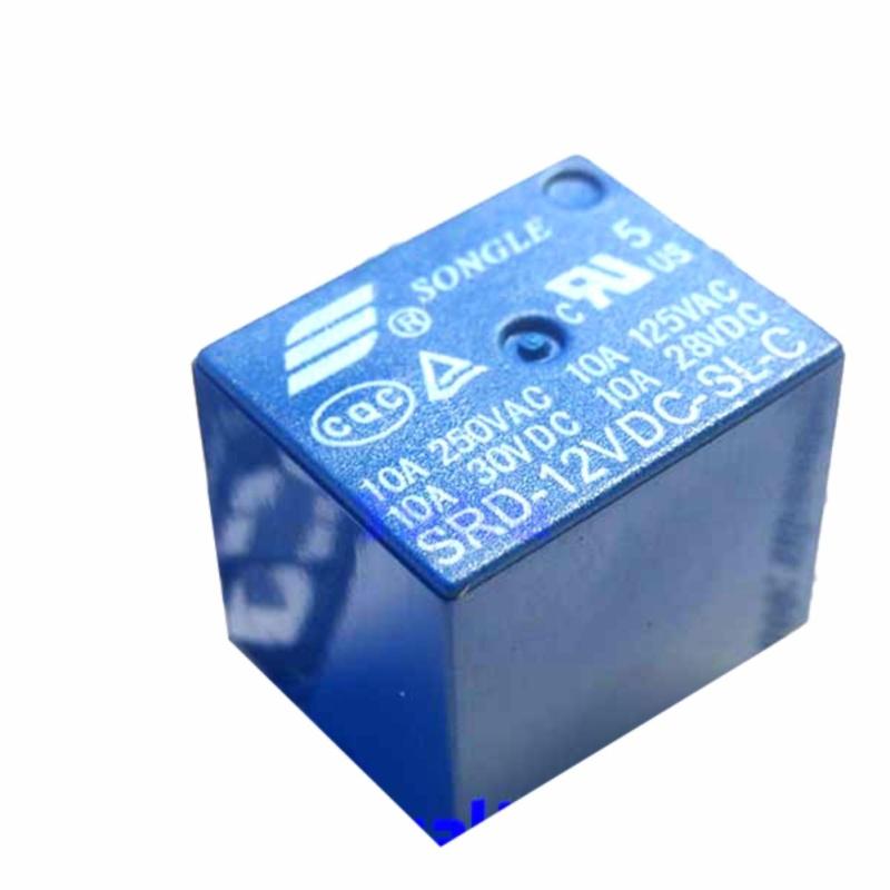 Bảng giá Combo 2 Relay 12V 10A 5Chân SRD-05VDC-SL-C