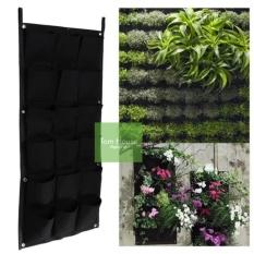 ComBo 4 Túi trồng cây treo tường gồm 20 túi trồng (100 x 50cm