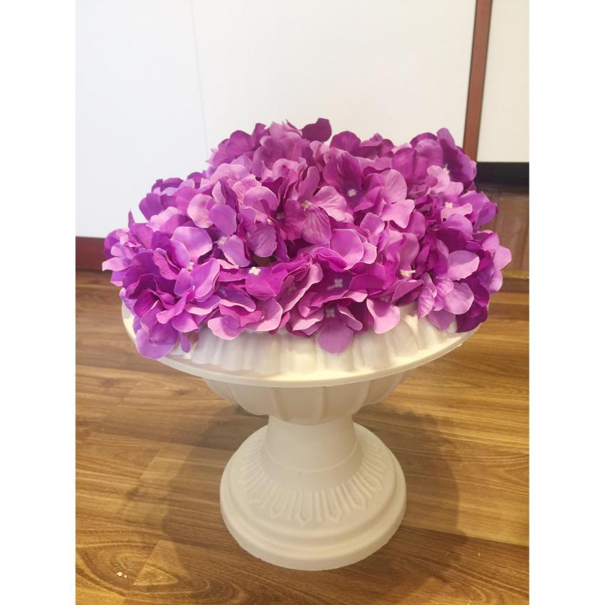 Combo 5 cành hoa Cẩm Tú Cầu (hoa Tử Dương) bông nhỏ 20cm x 12cm chất liệu silk