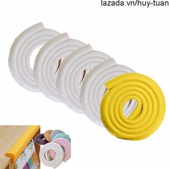 Combo 5 cuộn bọc cạnh bàn an toàn tiện dụng ( 4 trắng 1 vàng )