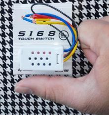 Công tắc cảm ứng chạm điều khiển từ xa S168