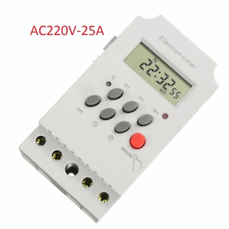 Bảng giá Mua Công tắc hẹn giờ kỹ thuật số 17 chương trình KG316T-II