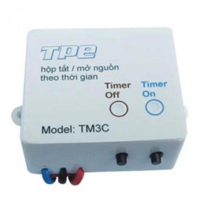 Bảng giá Mua Công tắc hẹn giờ TPE  TM3C (Trắng)