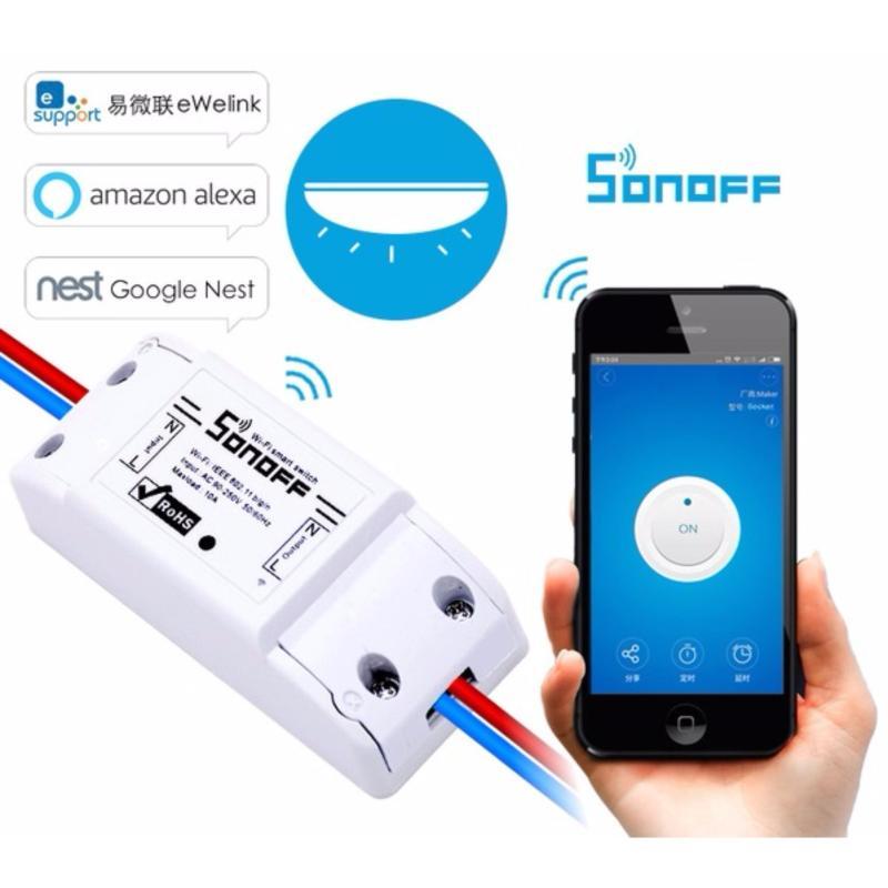 Công tắc thông minh điều khiển từ xa bằng smartphone qua wifi