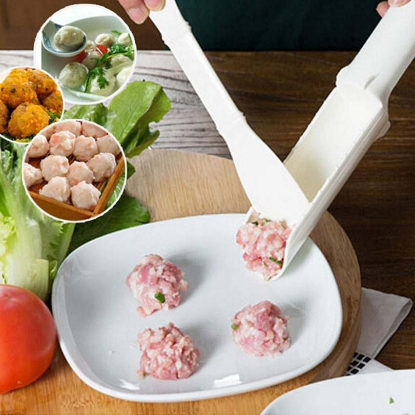 Hình ảnh Convenient Useful Meatball Burger Fish Balls Set DIY Accessories Kitchen Tool - intl