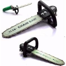 Cưa xích cắt gỗ lắp máy mài cầm tay Chain Saw - Tặng tấm chắn bảo vệ