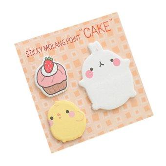 "Cute Design ""Rabbit"" Sticky Memo/ Sticker/ Post it Notes/ ..."