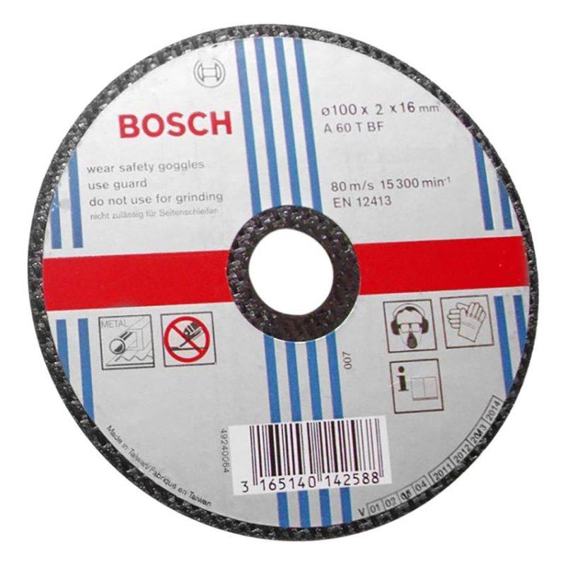 Đá cắt sắt Bosch 2608600382 (Đen)