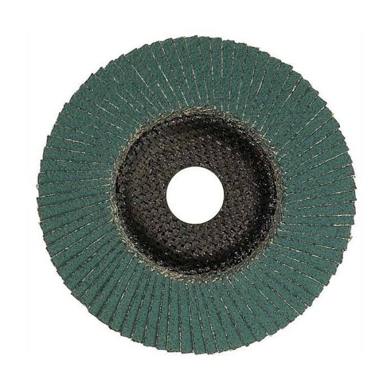 Đá nhám xếp Bosch 2608607328 125mm (Xanh)
