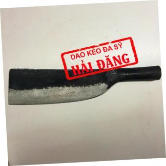 Dao phay chặt xương Hải Đăng - Đa Sỹ rèn thủ công bằng thép loại 1700g (Đen) HD04-04
