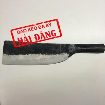 Dao phay (dao chặt) Hải Đăng - Đa Sỹ rèn thủ công bằng thép loại 1700g (Đen) HD04-02