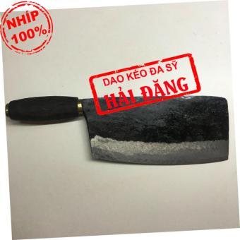 Dao phở chặt xương Hải Đăng - Đa Sỹ rèn thủ công bằng nhíp ô tô900g (cán gỗ) HD17-04