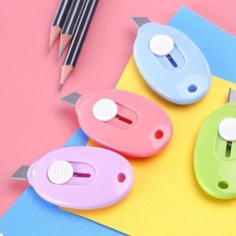Dao rọc giấy mini có thể làm thành móc khóa ( nhiều màu )