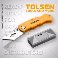 Dao xếp thay lưỡi rọc giấy (kèm hộp 5 lưỡi dao) Tolsen - Chất Lượng Châu Âu