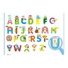 Địa Chỉ Bán Decal bảng chữ cái hình thú 50×70