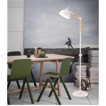 Đèn cây đứng trang trí nội thất Vintage kèm bóng LED chống lóa cao cấp