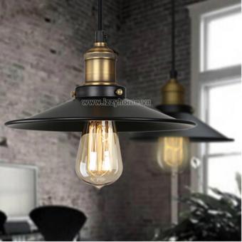 Đèn Industrial 001 cỡ 20cm (Tặng kèm bóng Edison Led tiết kiệm điện)