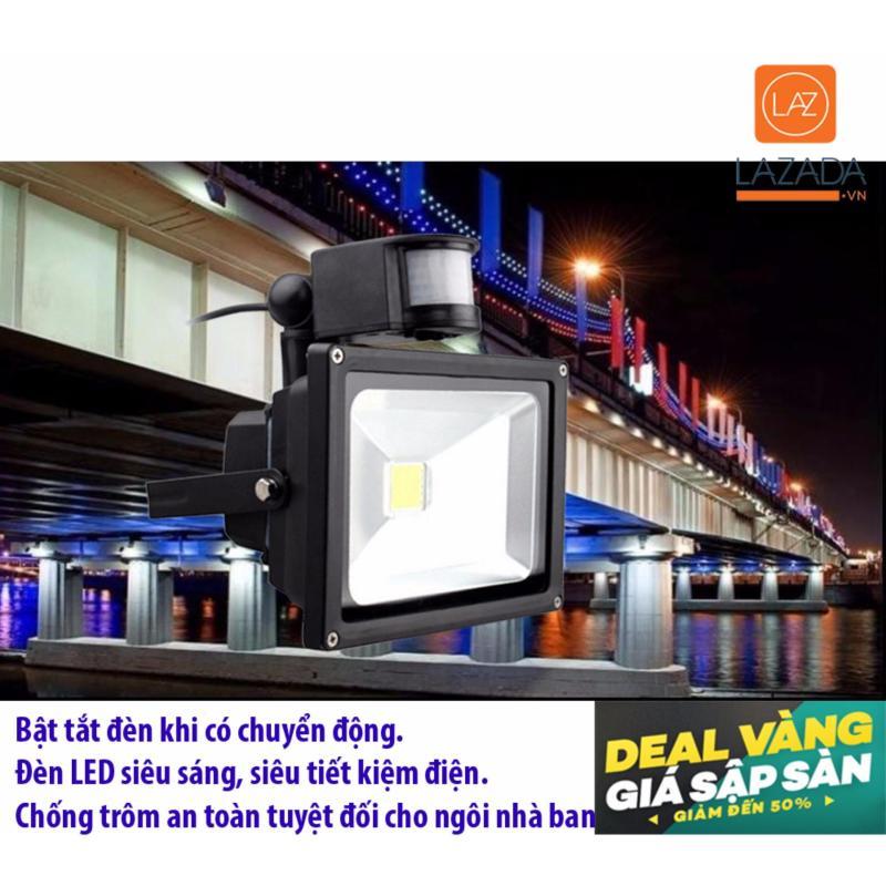 Bảng giá Mua Den led cam ung chong trom, Cảm biến từ chống trộm - COMBO Đèn LED siêu sáng 30W HD3 + Cảm biến bật tắt đèn từ động HD3 - Dòng sản phẩm thông mình, tốt nhất