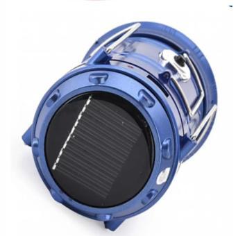 Đèn LED năng lượng mặt trời 3 trong 1(xanh)