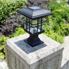 Đèn Led năng lượng mặt trời trụ vuông MTC16