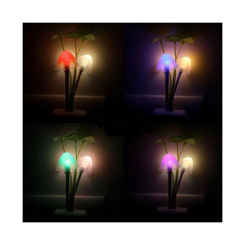 Bảng giá Mua Đèn Led ngủ cảm ứng ánh sáng hình cây nấm loại tốt nhất