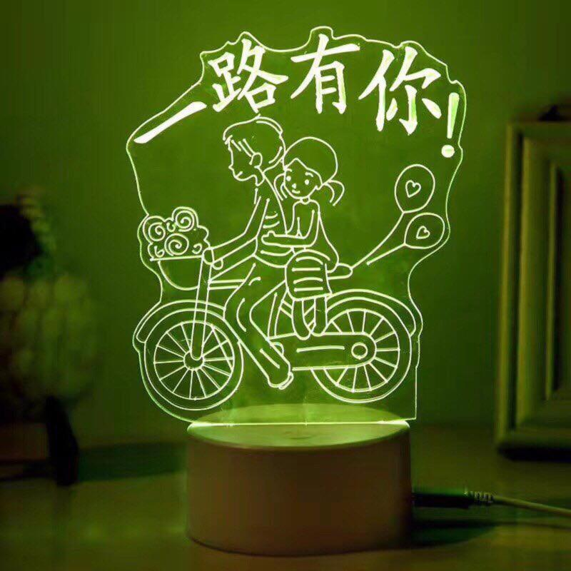 Bảng giá Đèn ngủ 3D (Hình lãng mạn)