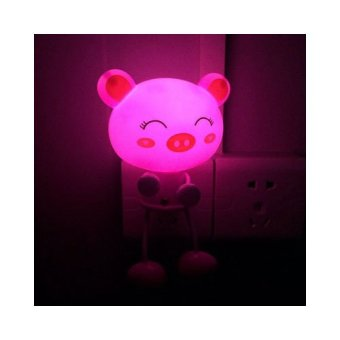 Đèn Ngủ Cảm Ứng Ánh Sáng Heo Con YW07
