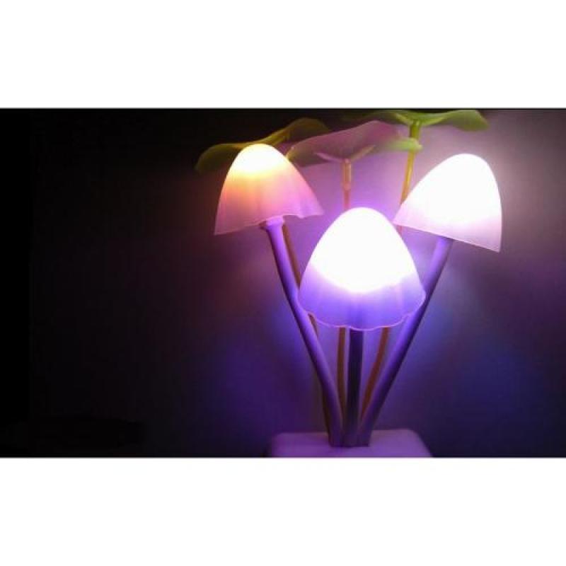 Bảng giá Đèn ngủ hình nấm Led cảm ứng ánh sáng(Trắng)