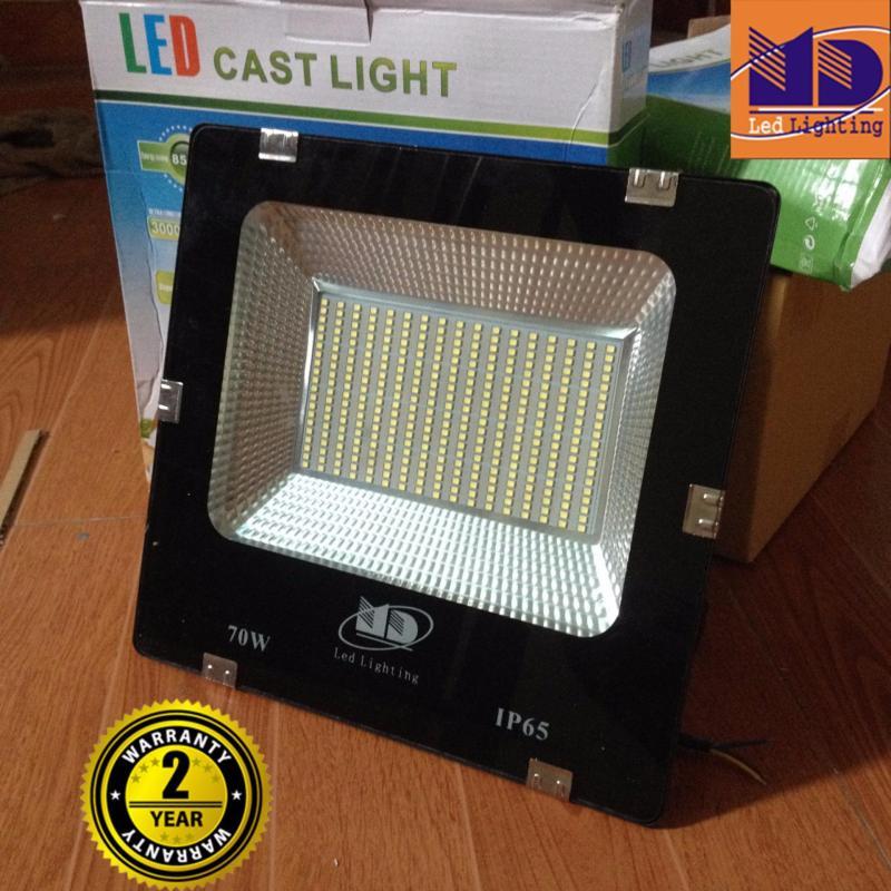 Bảng giá Mua Đèn pha Led 70W ánh sáng trắng, siêu mỏng chịu nước tốt - MD106
