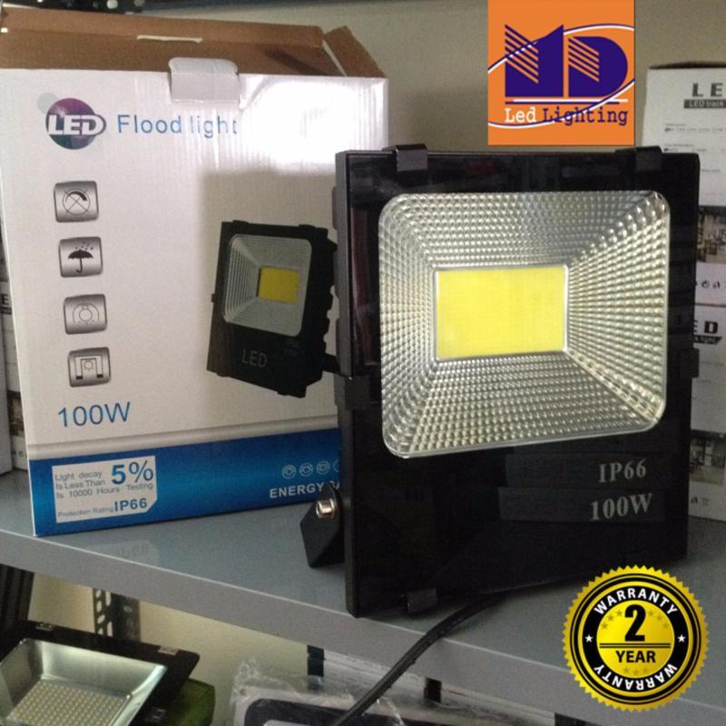 Bảng giá Mua Đèn Pha led Cao cấp chống nước COB ánh sáng vàng 100W