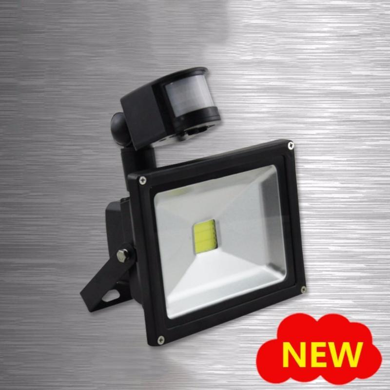 Bảng giá Mua Đèn Pha Led Ngoài Trời, Bộ Combo Đèn Led + Cảm Biến Tự Động Tắt Bật - Hàng Nhập Khẩu Nguyên Chiếc