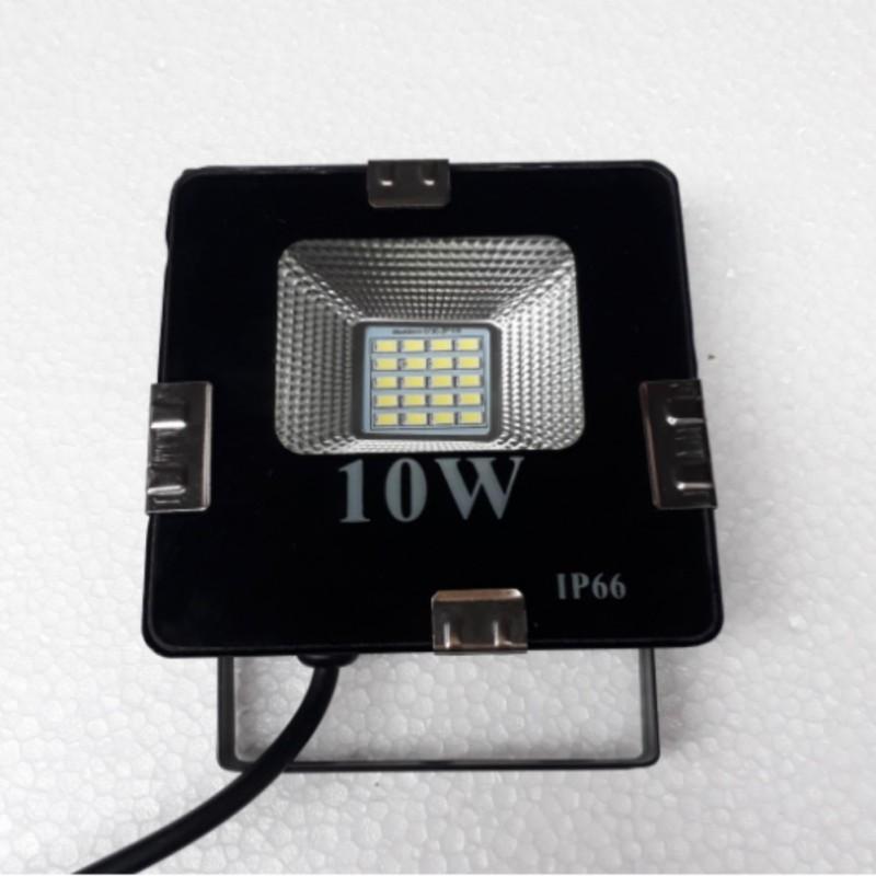 Bảng giá Đèn pha Led siêu mỏng, siêu sáng 10W (as trắng )