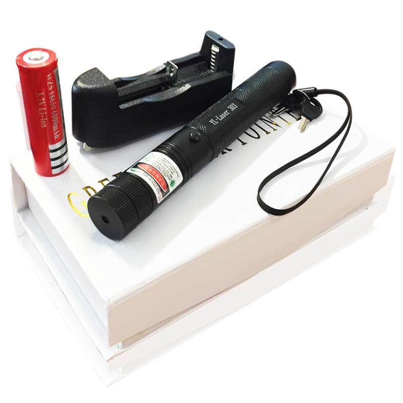 Bảng giá Mua Đèn pin chiếu tia Laser 303 tia xanh