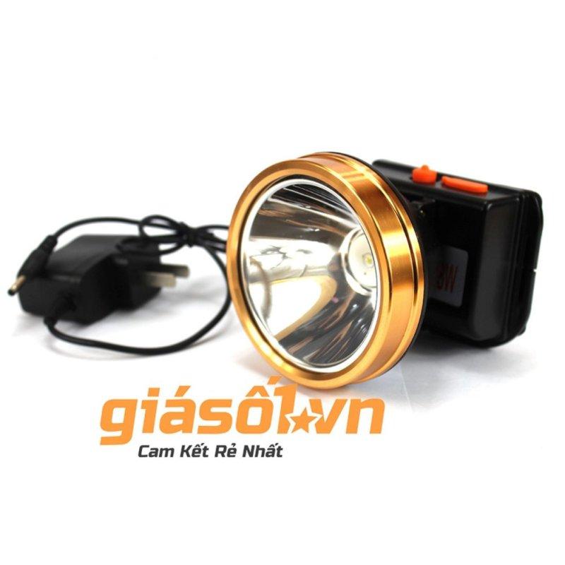 Bảng giá Mua Đèn pin đeo trán,đội đầu bóng LED siêu sáng chống nước