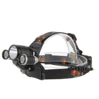 Đèn pin đội đầu 3 bóng siêu sáng tiện dụng - SmartBuy