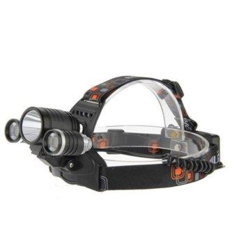 Đèn pin đội đầu siêu sáng 3 bóng Boruit