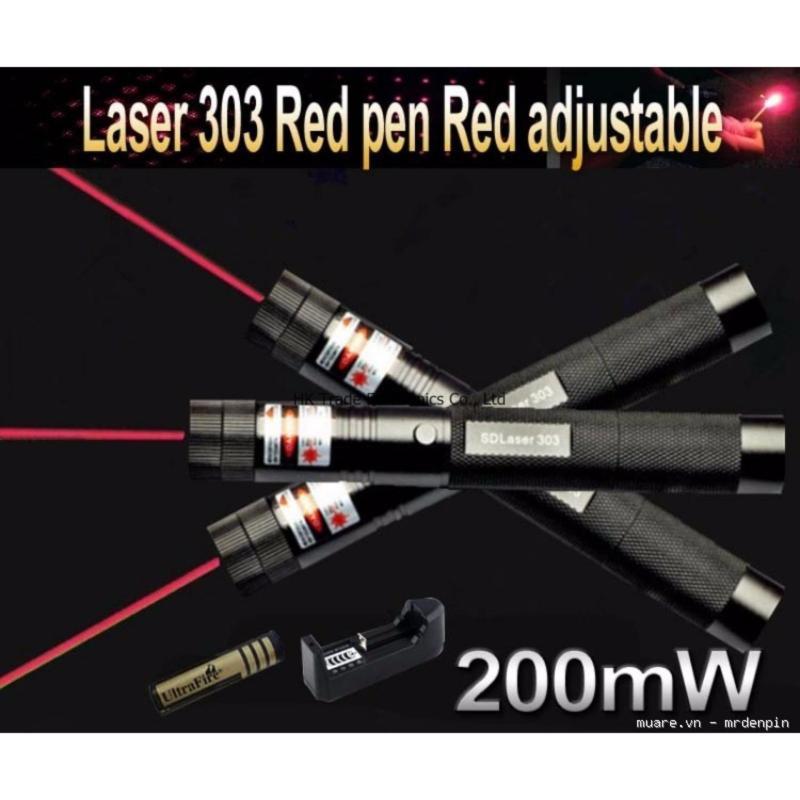 Bảng giá Đèn pin laser chiếu vạn hoa văn 303 siêu xa